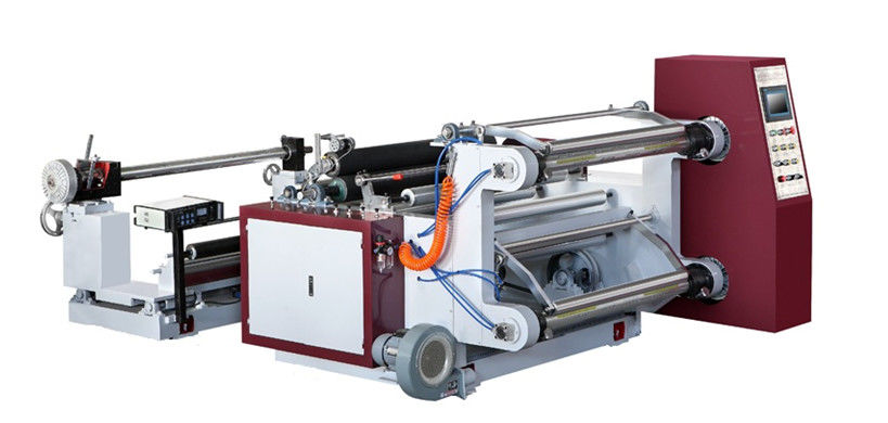 Computerized Label Slitter Rewinder Machine Horizontal Type With Checking Function
