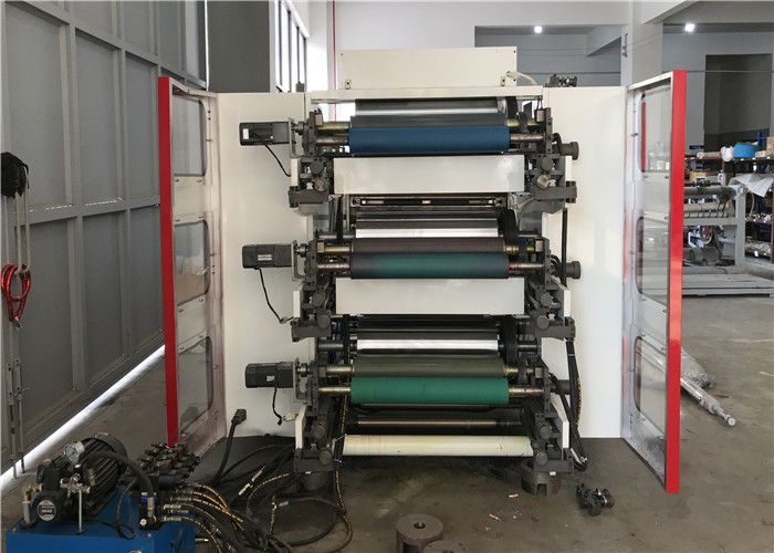Paper Adhesive Sticker CI Flexo Printing Machine Rotary Satellite Combination