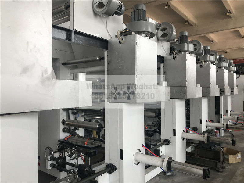 PET CPP PVC OPP PP PE PO Rotogravure Printing Machine Automatic Low Noise